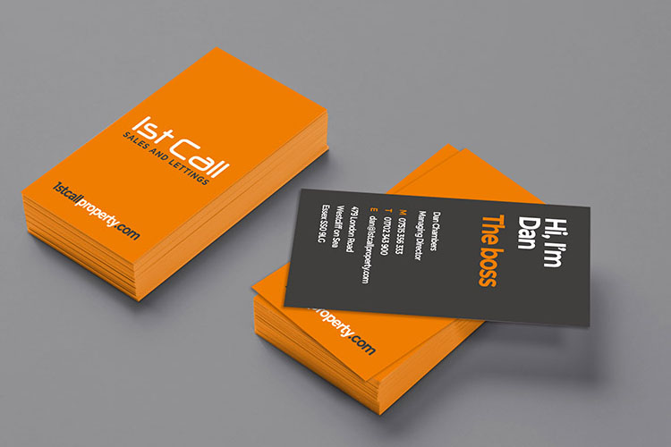 Business card design print essex design thing business card design essex colourmoves