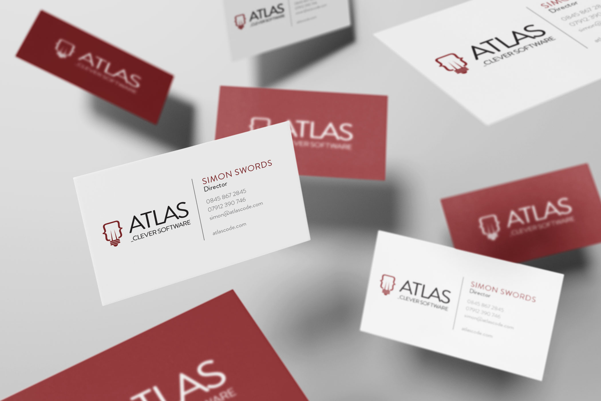 Atlas code case study design thing atlas code business card design essex reheart Image collections