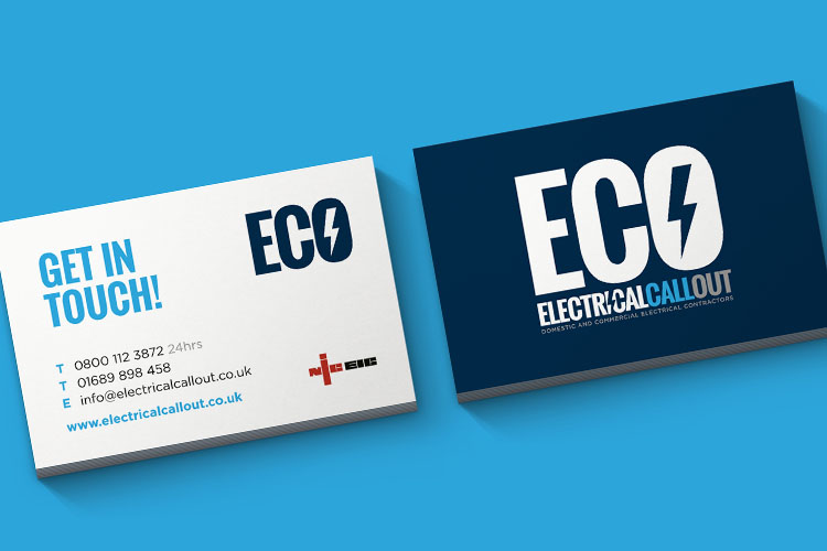 Construction Industry - Business Card Design Essex
