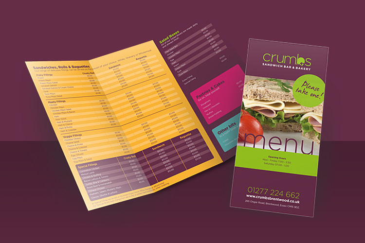 Food Industry - Brochure Design Essex