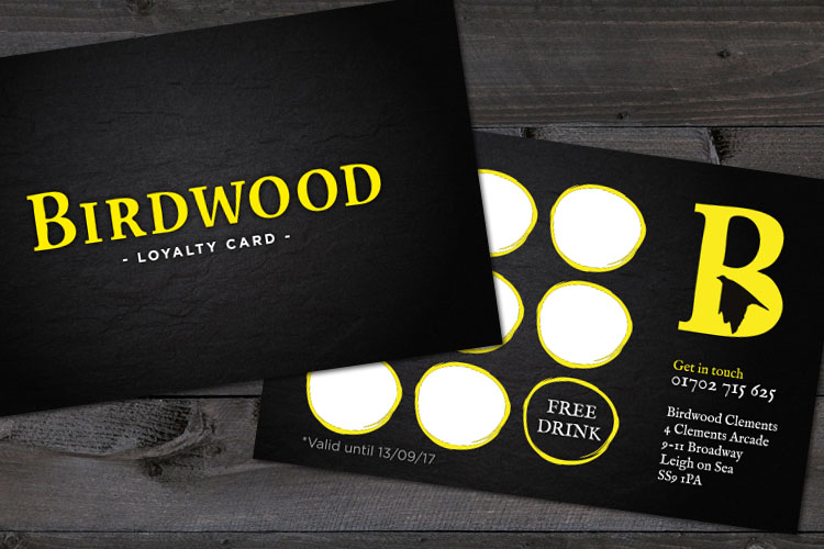 Food Industry - Loyalty Card Design Essex