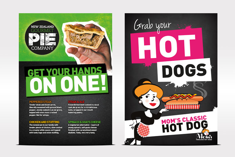 Food Industry - Poster Design Essex