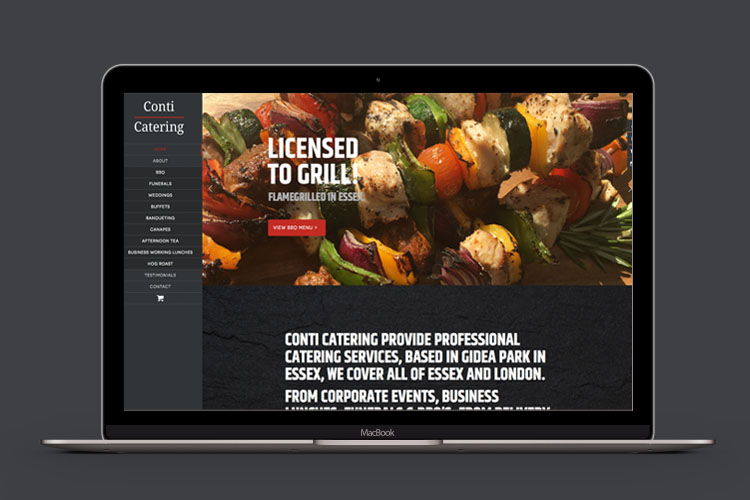 Food Industry - Website Design Essex