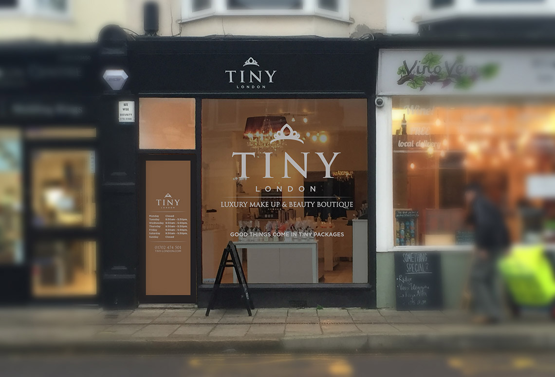 Health and Beauty Industry - Window Graphic Design Essex
