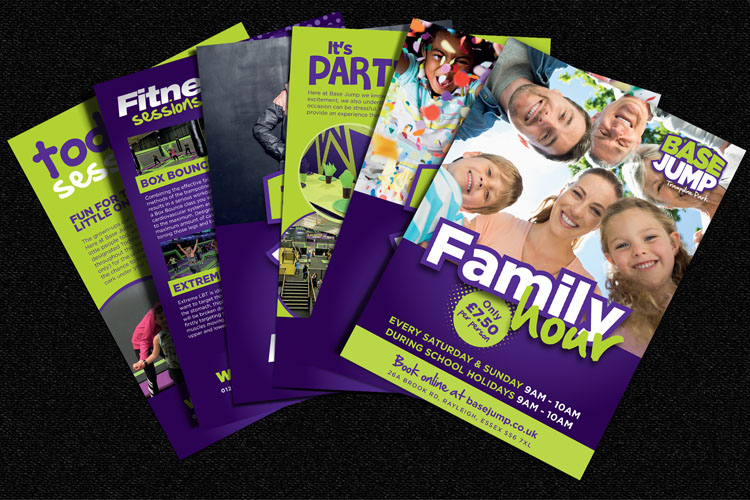 Leisure Industry - Leaflet Design Essex