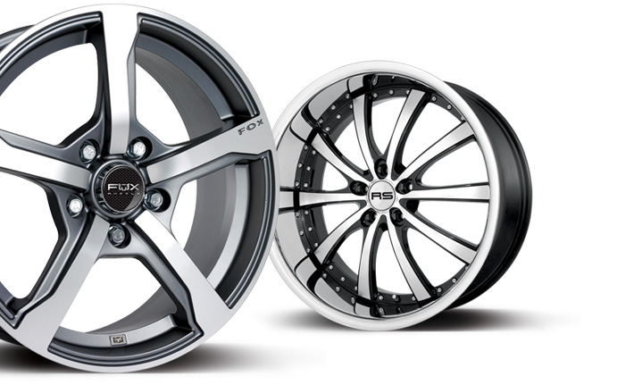 Motorsport Wheels - Product Photography Essex