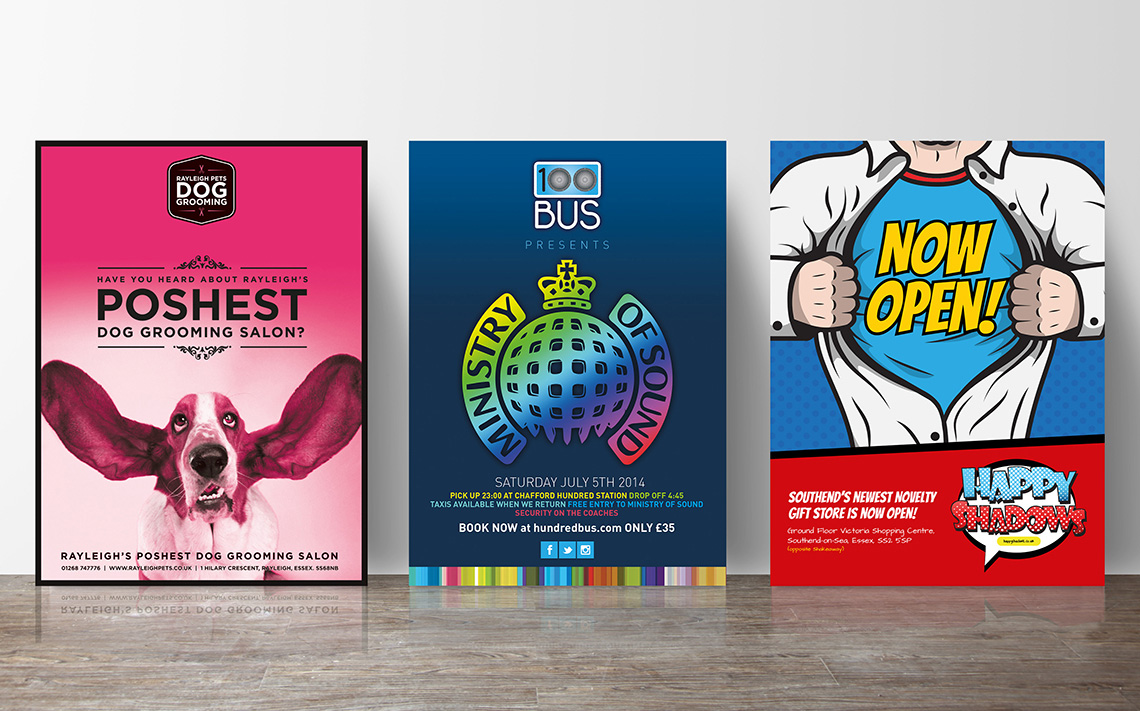 Poster design and printing - Poster Printing Essex