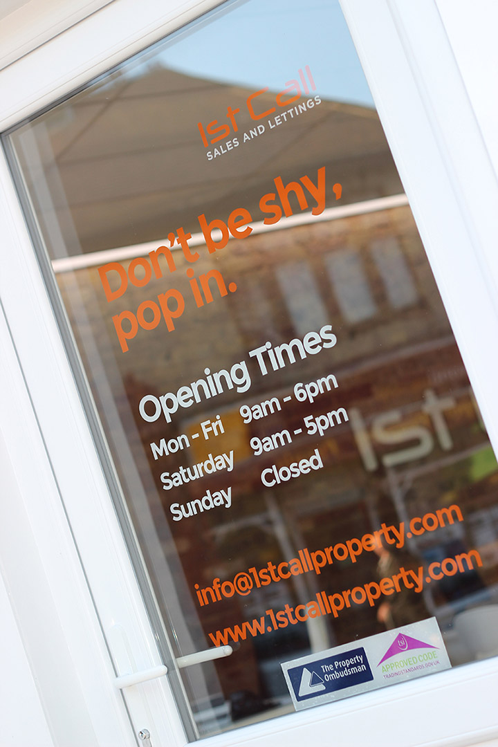 1st Call Property - Signage Design Essex