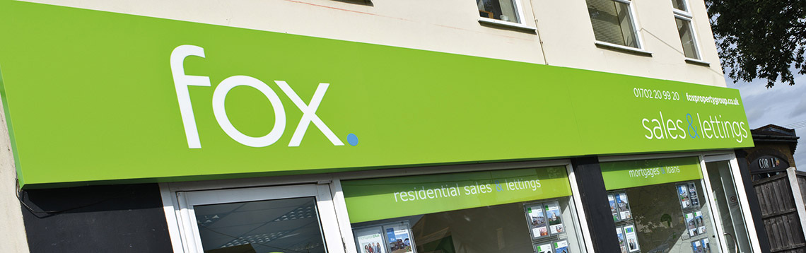 Fox Property - Signage Design Essex