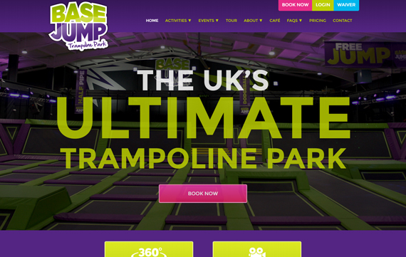 Base Jump - Website Design Essex Portfolio