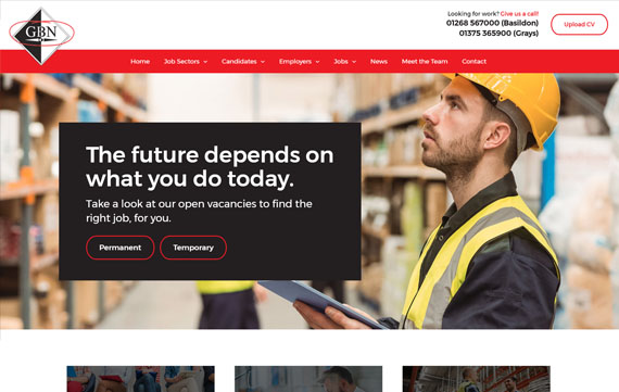 GBN Associates - Website Design Essex Portfolio