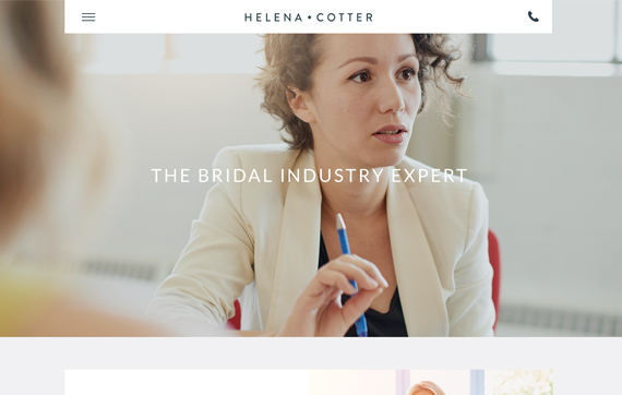 Helena Cotter - Website Design Essex Portfolio