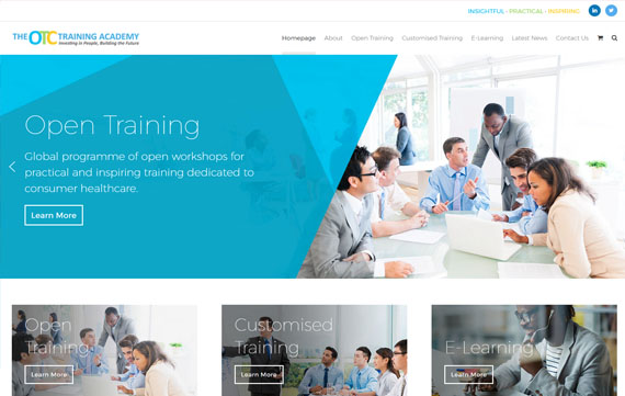 The CHC Training Academy - Ecommerce Website Design Essex