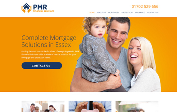 PMR - Website Design Essex Portfolio